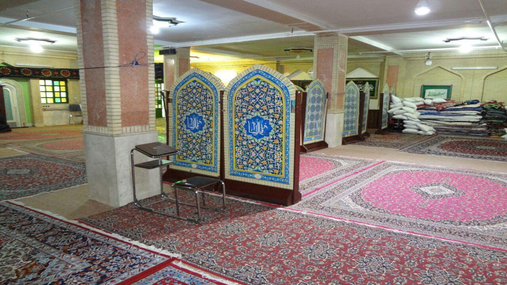 حسینیه نزدیک حرم انصار